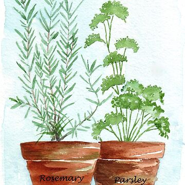 Rosemary and Parsley by MareeClarkson