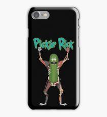 Pickle Riiiiiiick!  iPhone Case/Skin