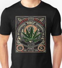 Obey Weed Peace T-Shirt
