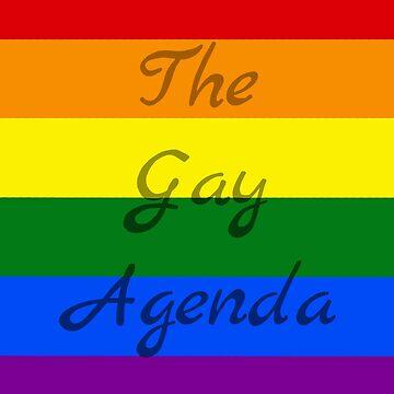 the gay agenda by Zomberflie