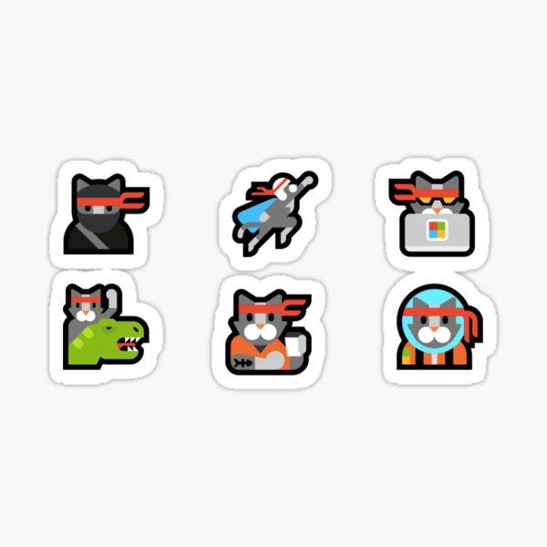 Cat emojis Sticker