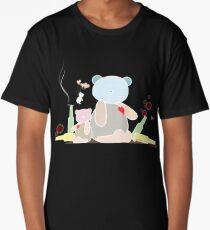 My wild night with Teddy Bear Long T-Shirt