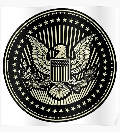Great Seal of The United States Of America Poster