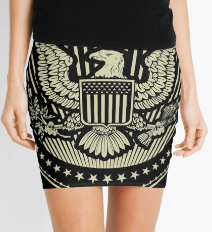 Great Seal of The United States Of America Mini Skirt