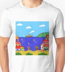 Mediterranean Holiday Unisex T-Shirt