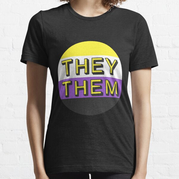 They/Them - Nonbinary flag Essential T-Shirt