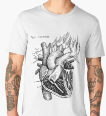 The Heart Men's Premium T-Shirt
