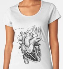 The Heart Women's Premium T-Shirt