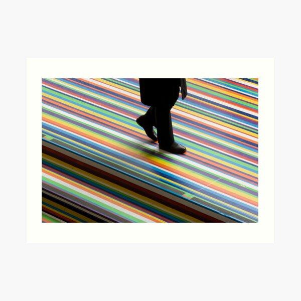 walk the line Art Print