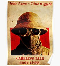 Fallout New Vegas : Careless Talk Costs Lives Poster Poster
