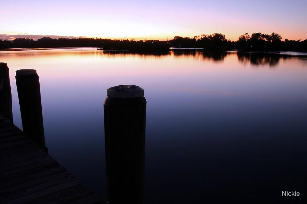 Tweed River Sunset  by Nickie