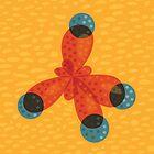 Just An Orange Methane Molecule by Boriana Giormova