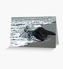 Foamy Stone Greeting Card
