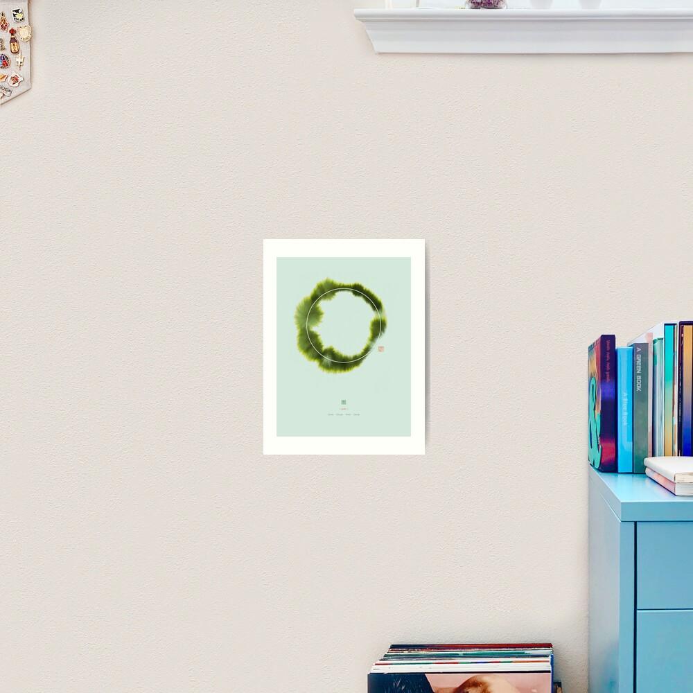 Circle n°1 Art Print