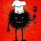 Evil Bug Chef Loves To Cook by Boriana Giormova