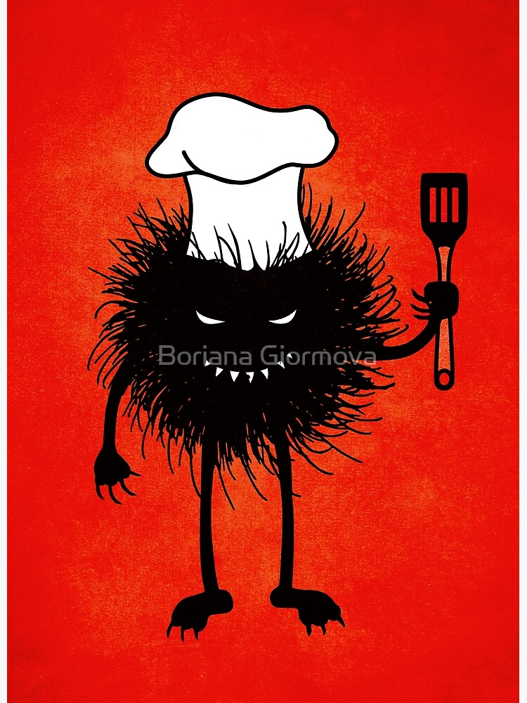 Evil Bug Chef Loves To Cook by azzza