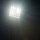 Stadium Flood lights and rain by stuwdamdorp
