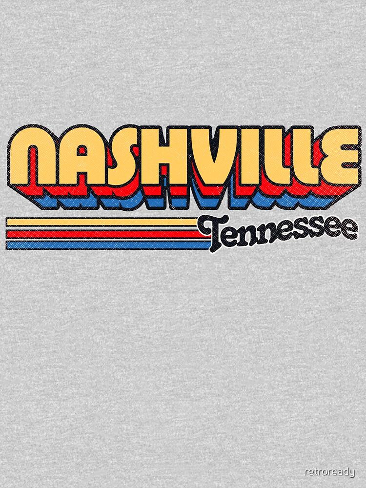 Nashville, TN | City Stripes by retroready