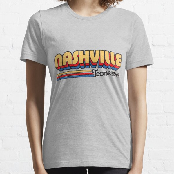Nashville, TN | City Stripes Essential T-Shirt