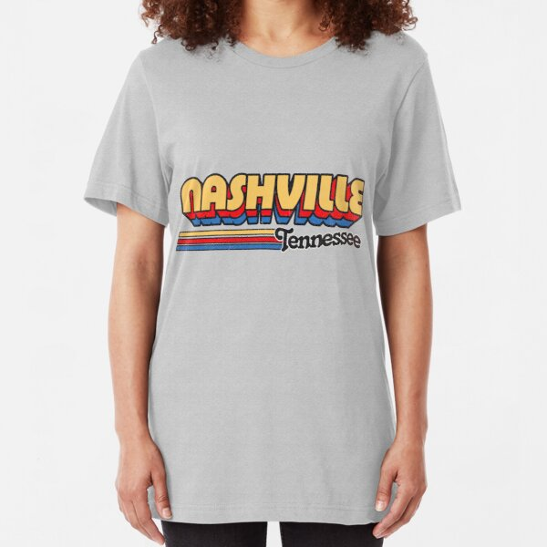 Nashville, TN | City Stripes Slim Fit T-Shirt