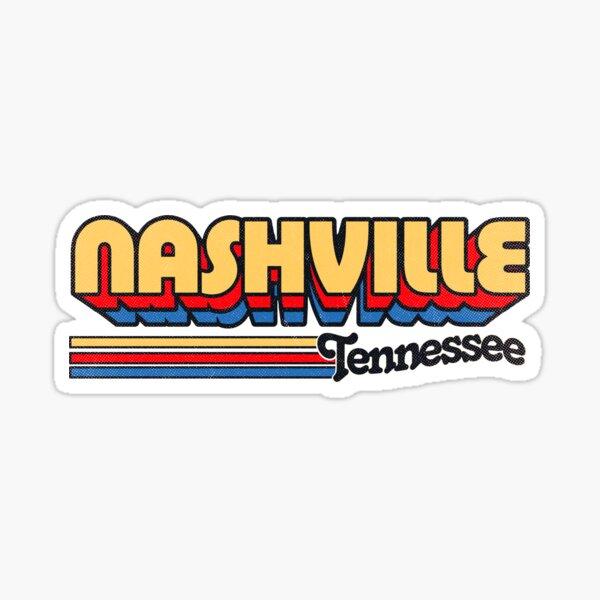 Nashville, TN | City Stripes Sticker