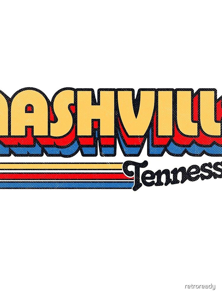 Nashville, TN | Rayas de la ciudad de retroready