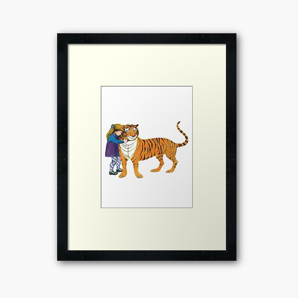 The Tiger Who Came to Tea Framed Art Print