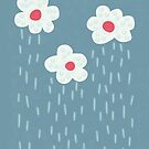 Raining Flowery Clouds by Boriana Giormova