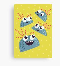 Happy Friends Canvas Print
