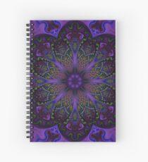 Fractal Mandala Spiral Notebook