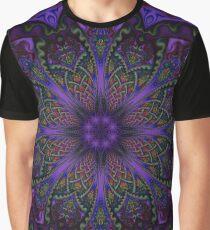 Fractal Mandala Graphic T-Shirt