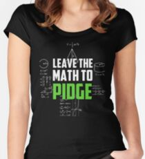 """""""Leave the math to Pidge"""" - Keith - Klance - Voltron Women's Fitted Scoop T-Shirt"""