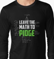 """Leave the math to Pidge"" - Keith - Klance - Voltron Long Sleeve T-Shirt"