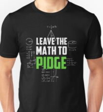 """Leave the math to Pidge"" - Keith - Klance - Voltron Unisex T-Shirt"