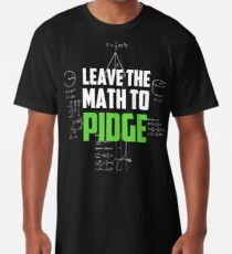 """Leave the math to Pidge"" - Keith - Klance - Voltron Long T-Shirt"
