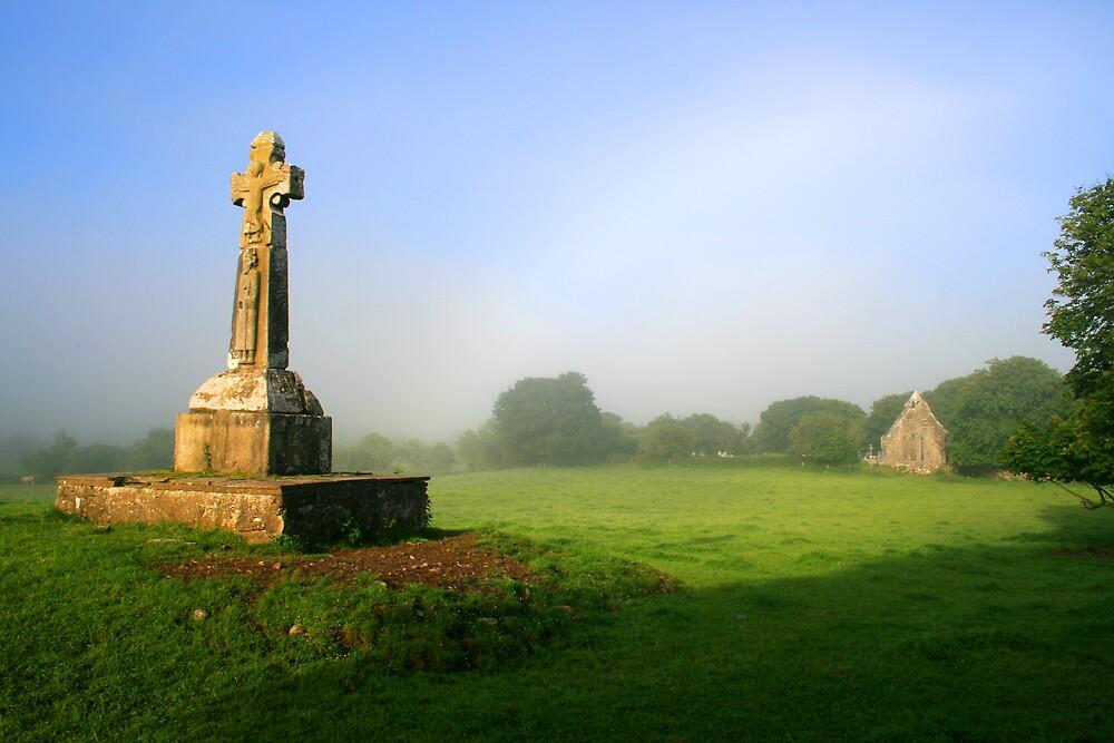 Dysart O Dea Celtic Cross by John Quinn