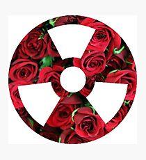 toxic sign wall art redbubble