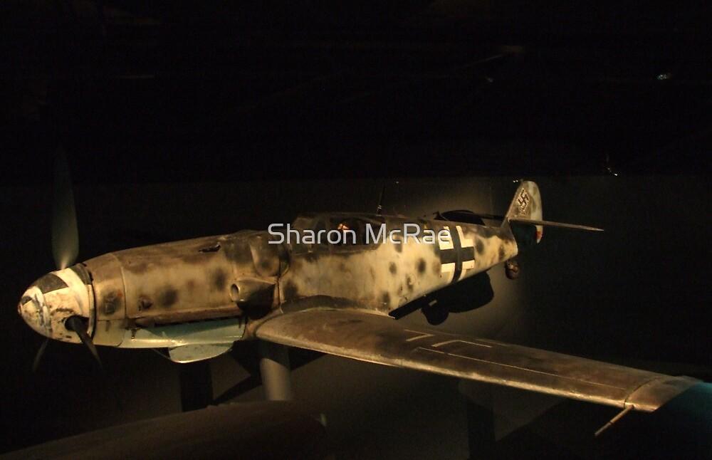 Messerschmitt Me109- War Memorial Canberra by SharonD