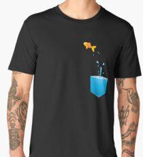 Glass fish bowl Men's Premium T-Shirt