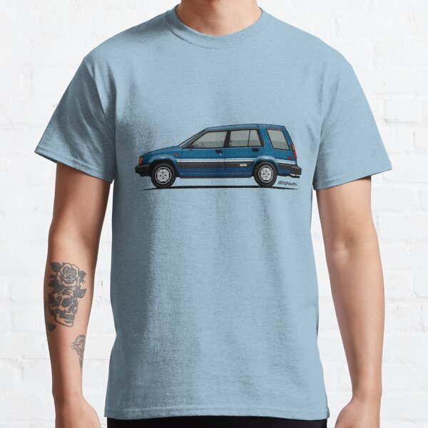 Toyota Tercel SR5 4WD Wagon AL25 (blue) Classic T-Shirt