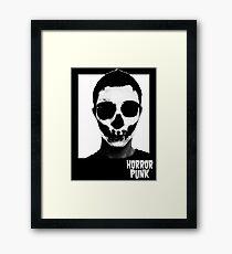 Horror Punk Skullface Framed Print