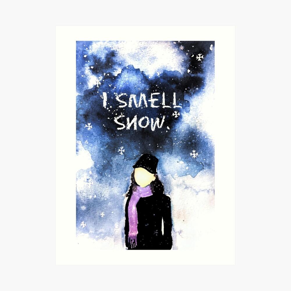 Lorelai Gilmore - Ich rieche Schnee Kunstdruck