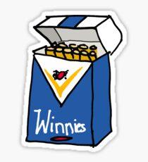 Winnie Blues Sticker