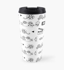 Cinema background Travel Mug