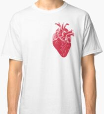 Anatomical red heart Classic T-Shirt