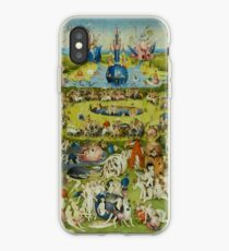 The Garden of Earthly Delights by Hieronymus Bosch iPhone Case