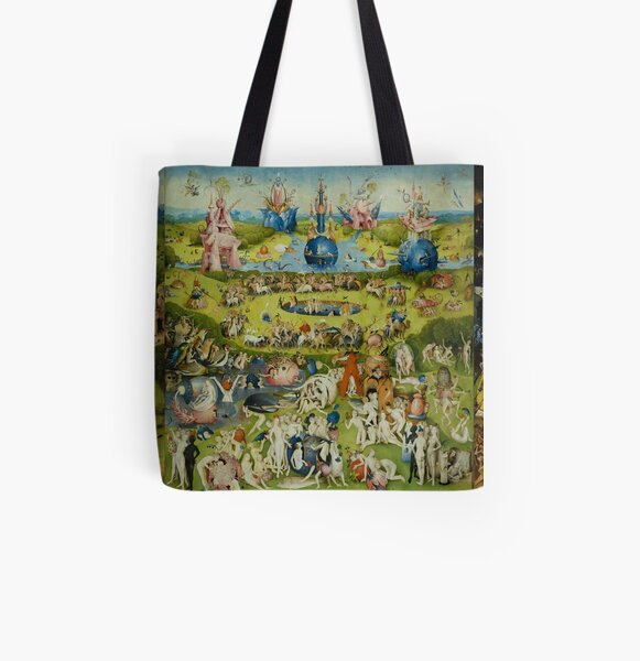 The Garden of Earthly Delights by Hieronymus Bosch All Over Print Tote Bag