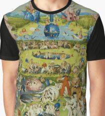 Der Garten der Lüste von Hieronymus Bosch Grafik T-Shirt