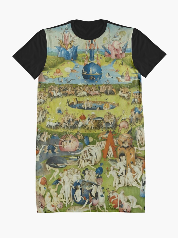 Alternate view of The Garden of Earthly Delights by Hieronymus Bosch Graphic T-Shirt Dress