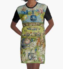 Vestido camiseta El jardín de las delicias de Hieronymus Bosch